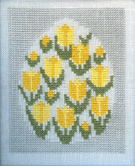 Tulips in Egg