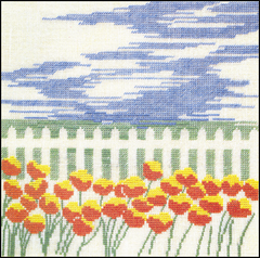 Design from 1990 Calendar, July