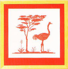 Ostrich and Acacia