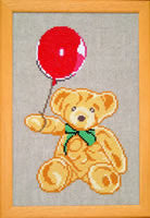 Teddy Bear with Balloon