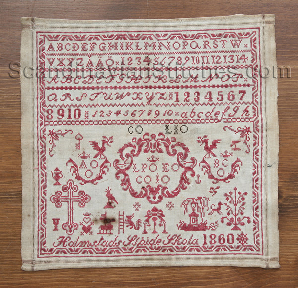 1860 Swedish Sampler Reproduction Kit, Limited