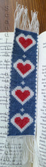 Blue Heart Bookmark
