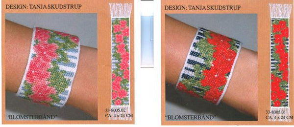 Flower Band Bookmark/Bracelet