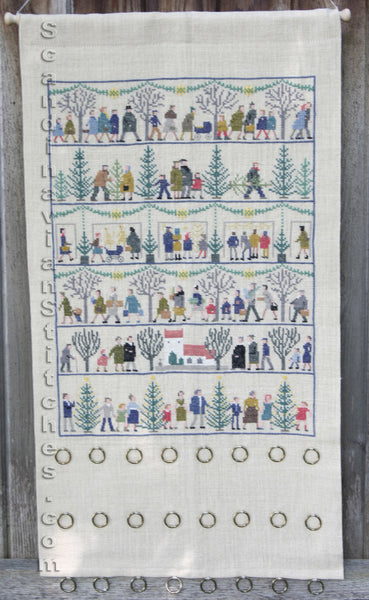 Christmas Motifs Advent Calendar