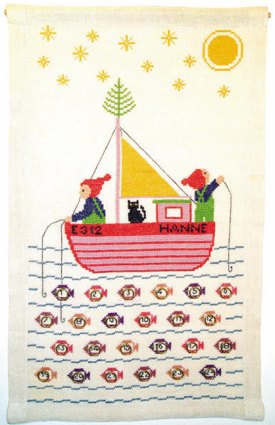 Fishing Boat Advent Calendar