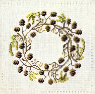 Red Alder Wreath, February