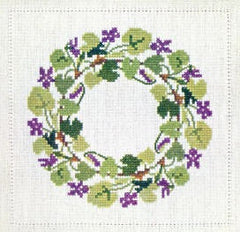 Violet Wreath (March)