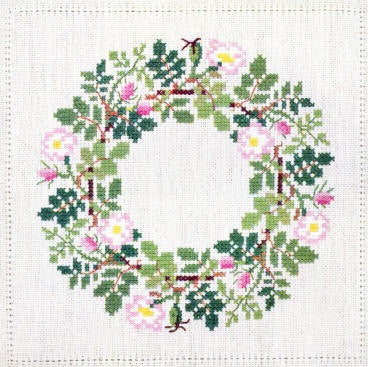 Wild Rose Wreath, June