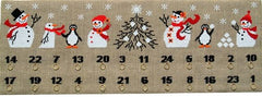 Snowmen and Penguins Advent Calendar