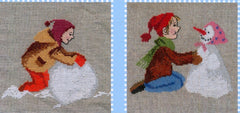 Kinder im Schnee (Children in the Snow Chart)