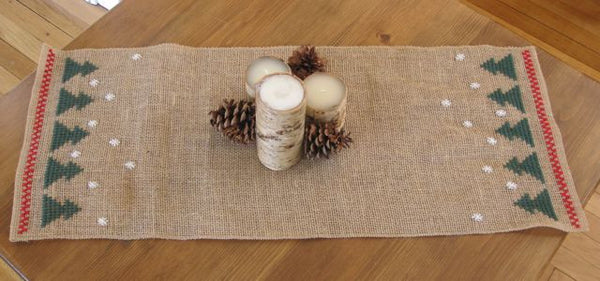 Hessian Christmas Tree Runner Kit