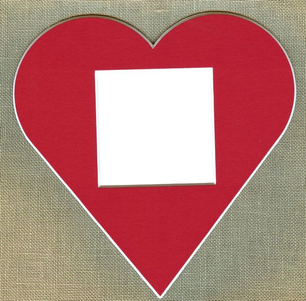 Red Heart Cut Out