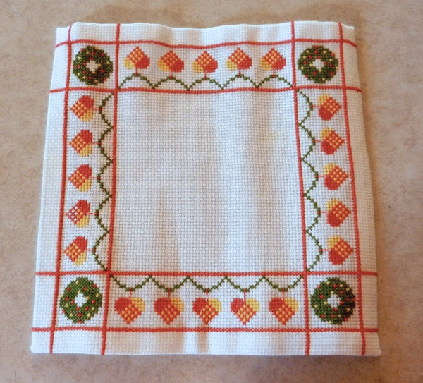 White Christmas Square by Gunilla's Designs
