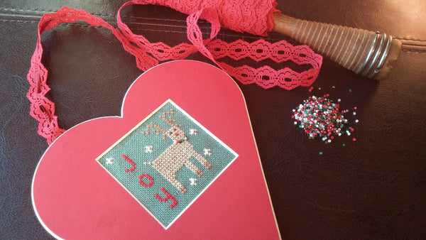 Reindeer JOY Heart Kit