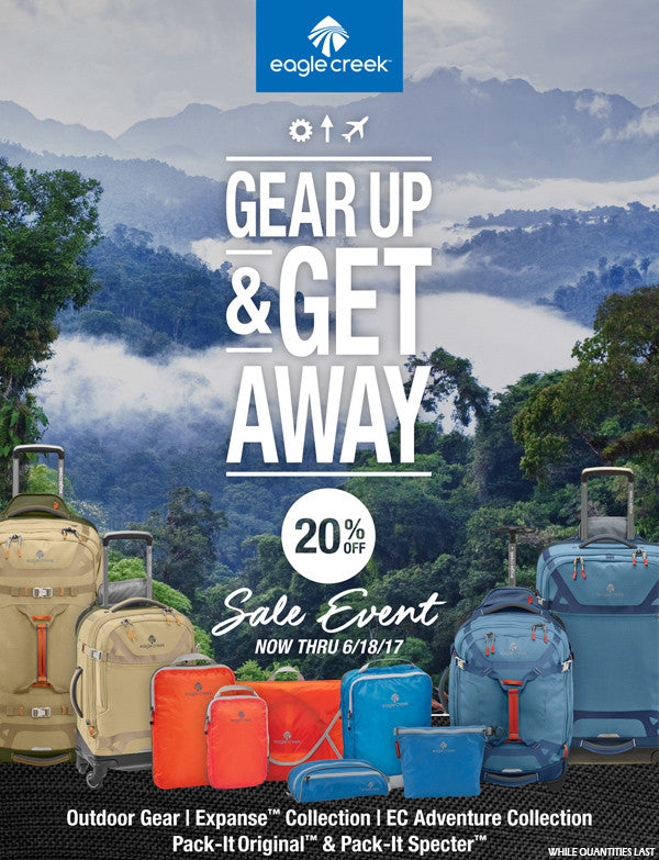 eagle creek gear up and get away sale