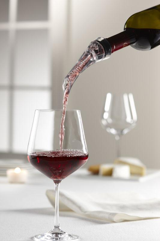 Aerating Wine Pourer - Jet-Setter.ca
