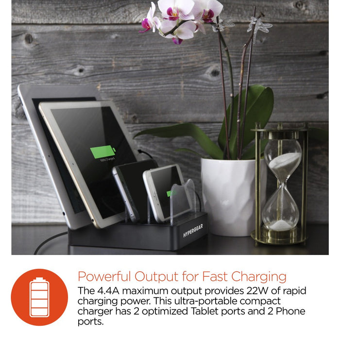 HyperGear Quadpower Charging Station