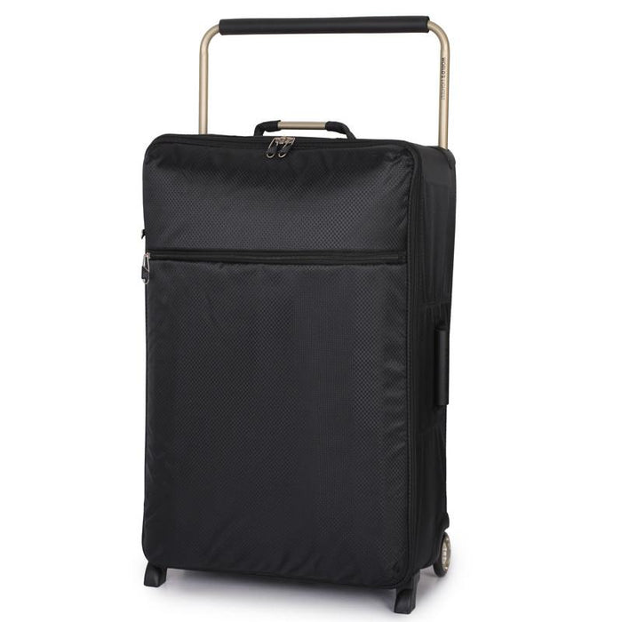 "World's Lightest 28"" Rolling Upright - Black - Jet-Setter.ca"