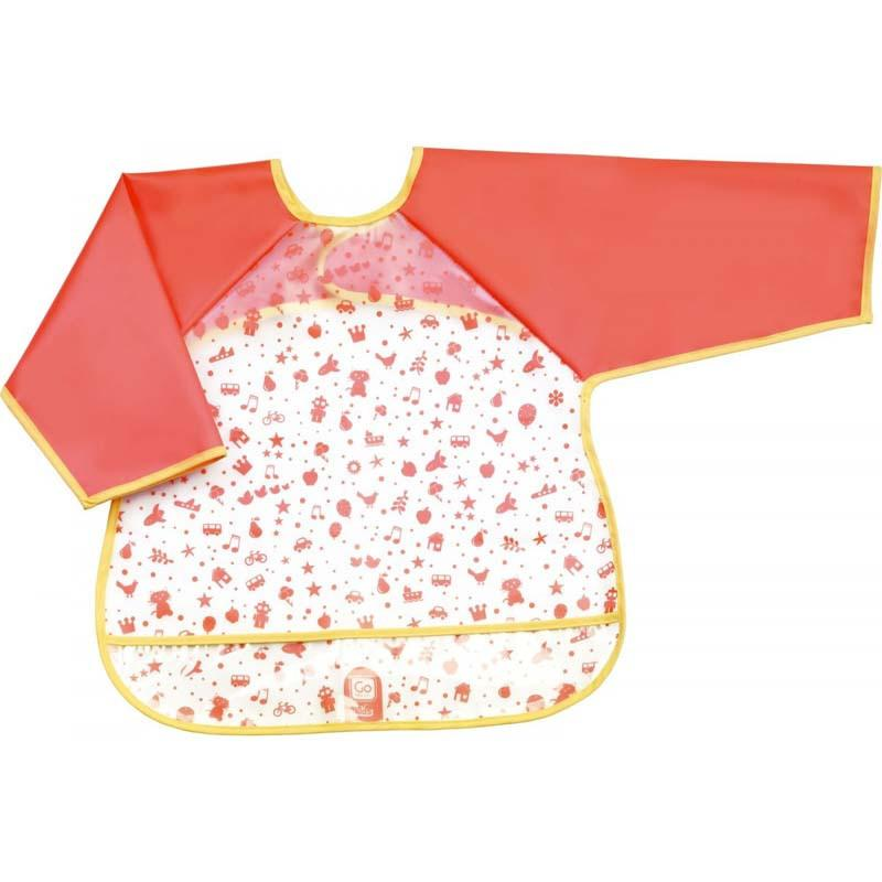 Sleeved Bib With Crumb Catcher - Jet-Setter.ca