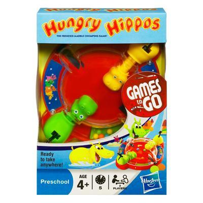 Hungry Hungry Hippos Travel game - Jet-Setter.ca
