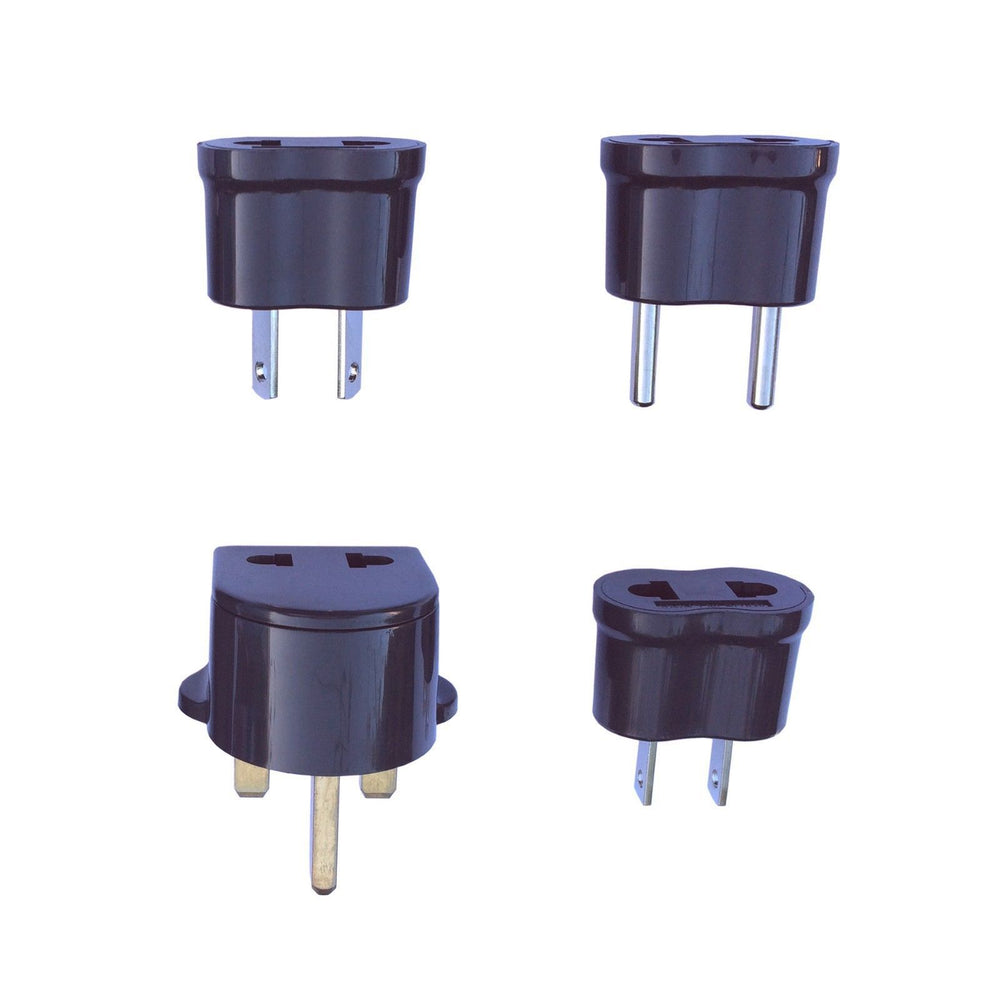 International Nongrounded Adapter Plug Set