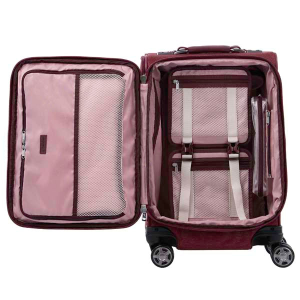 Travelpro Platinum Elite Expandable Business Plus Spinner Luggage 20-Inch