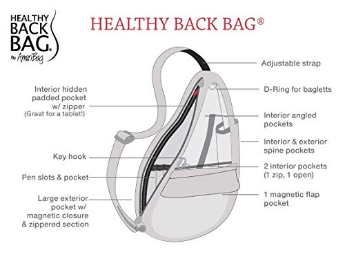 AmeriBag Healthy Back Bag: Microfibre Small