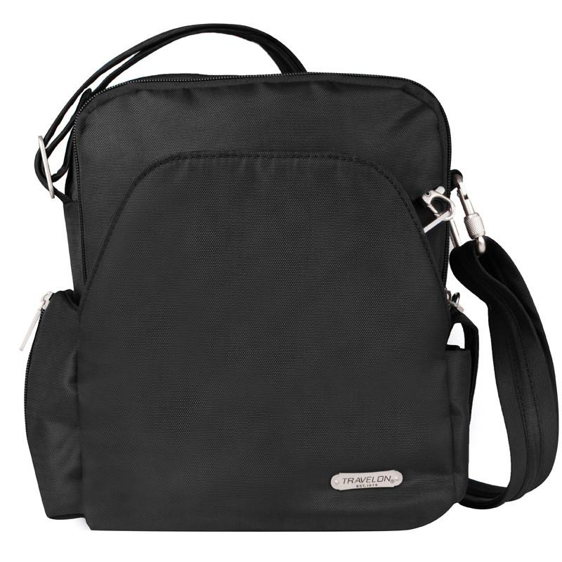 Travelon - Anti-Theft Classic Shoulder Bag - Jet-Setter.ca