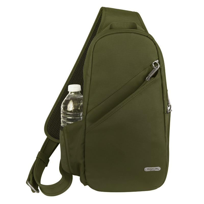 Travelon - Anti-Theft Classic Slingbag - Jet-Setter.ca