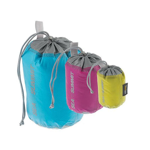 Travelling Light 3 Piece Stuff Sack Set