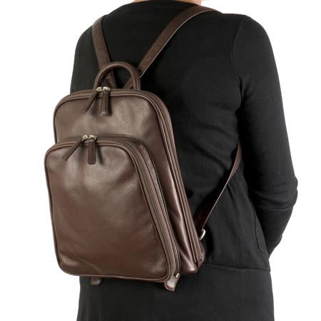Osgoode Marley Leather RFID Large Organizer Backpack