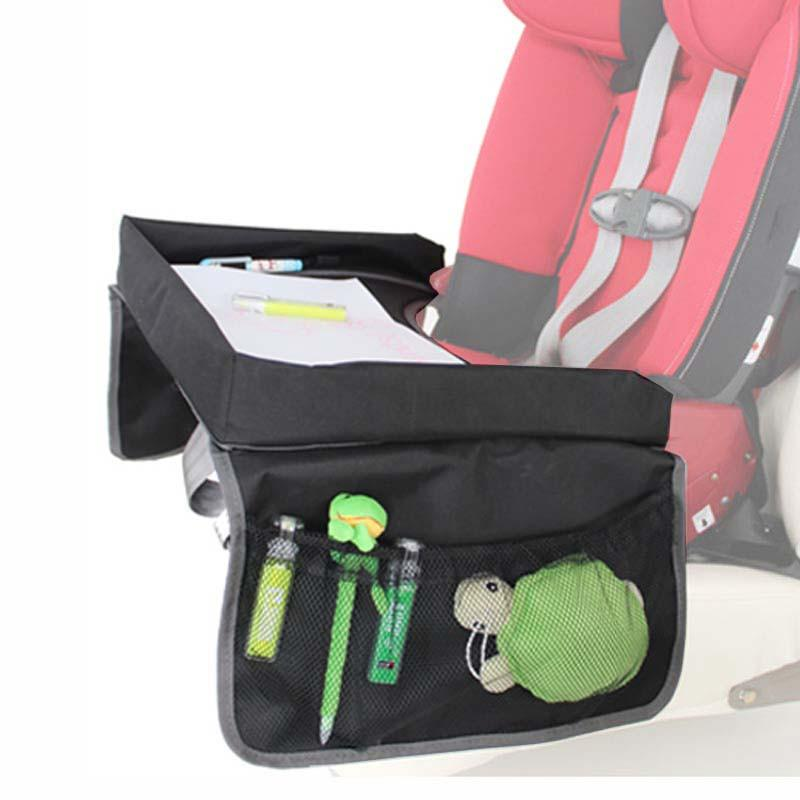 Car Seat Travel Tray Organizer