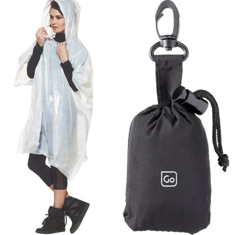 Emergency Poncho & Pouch - 2 Pack