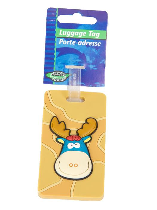 Children's Moose Luggage Tag - Jet-Setter.ca