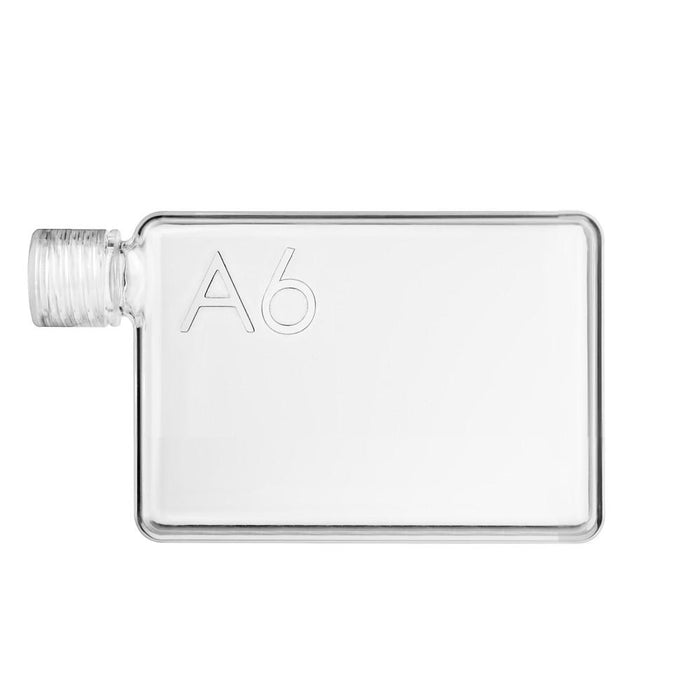 A6 memobottle 375ml Flat Water Bottle - Jet-Setter.ca