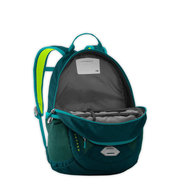 Recon Squash Youth Backpack Open