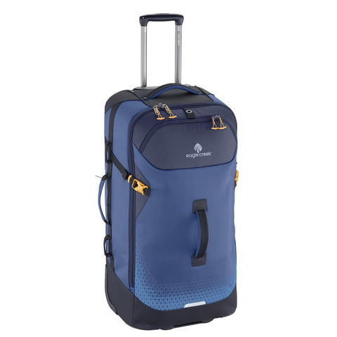 "Eagle Creek Expanse 32"" Flatbed Rolling Duffle Blue"
