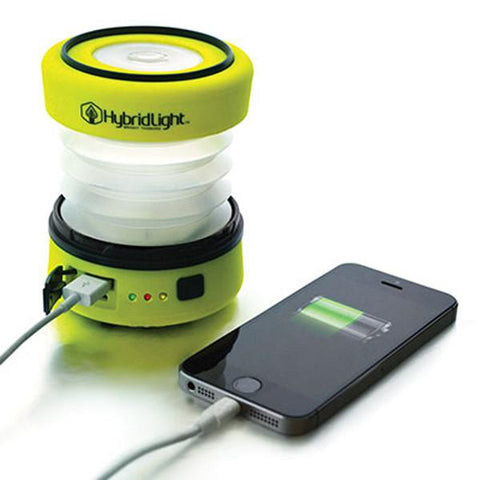 PUC Expandable LED Solar Lantern/Phone Charger