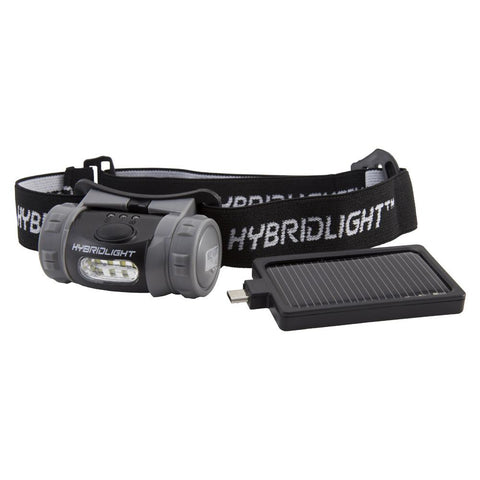 HybridLight LED Solar Headlamp