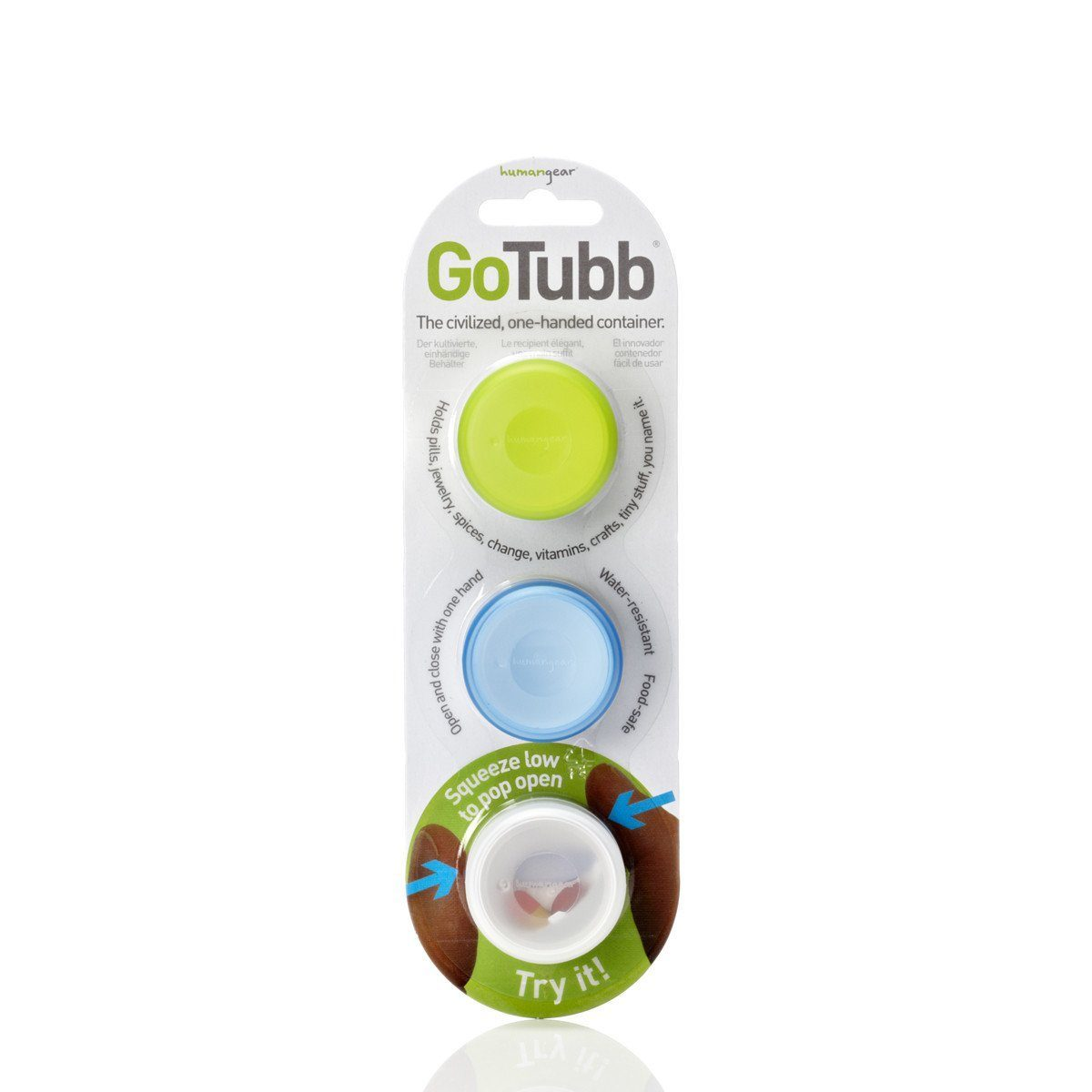 GoTubb 3 Pack Small - Jet-Setter.ca