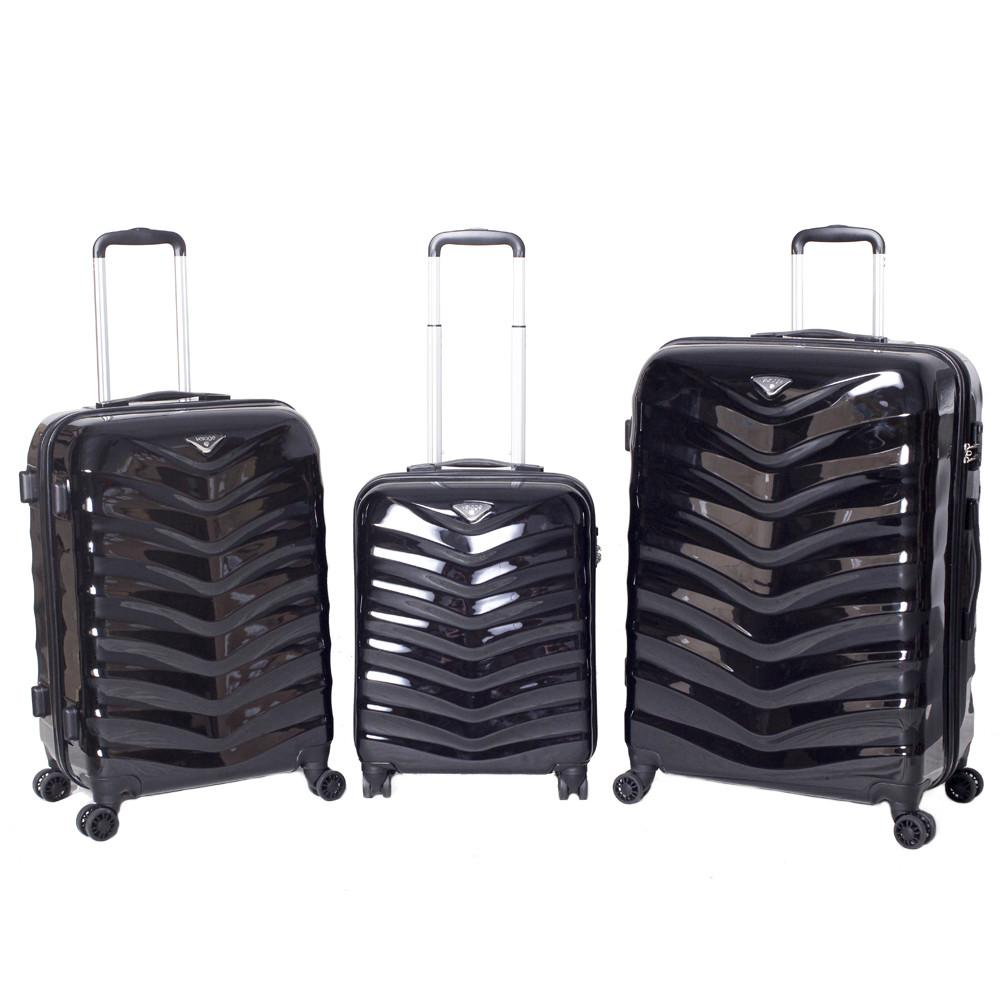 Verage - Seagull 3 Piece Hardside Spinner Set - Jet-Setter.ca