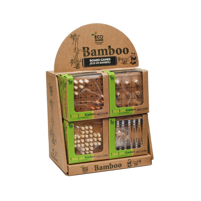 Eco Bamboo Board Games