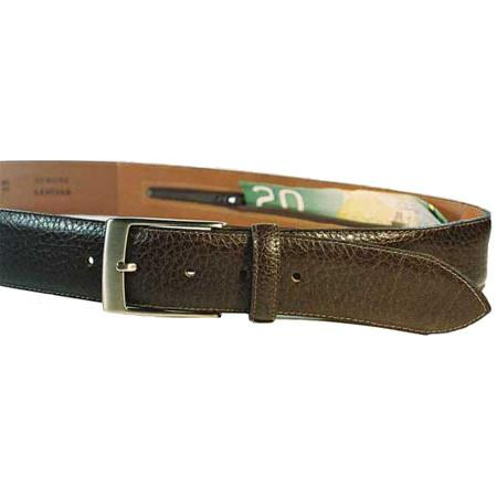 Leather Money Belt - Jet-Setter.ca