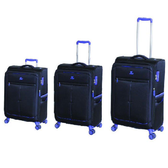 Mercury 3 Piece Expandable 4 Wheel Spinner Set