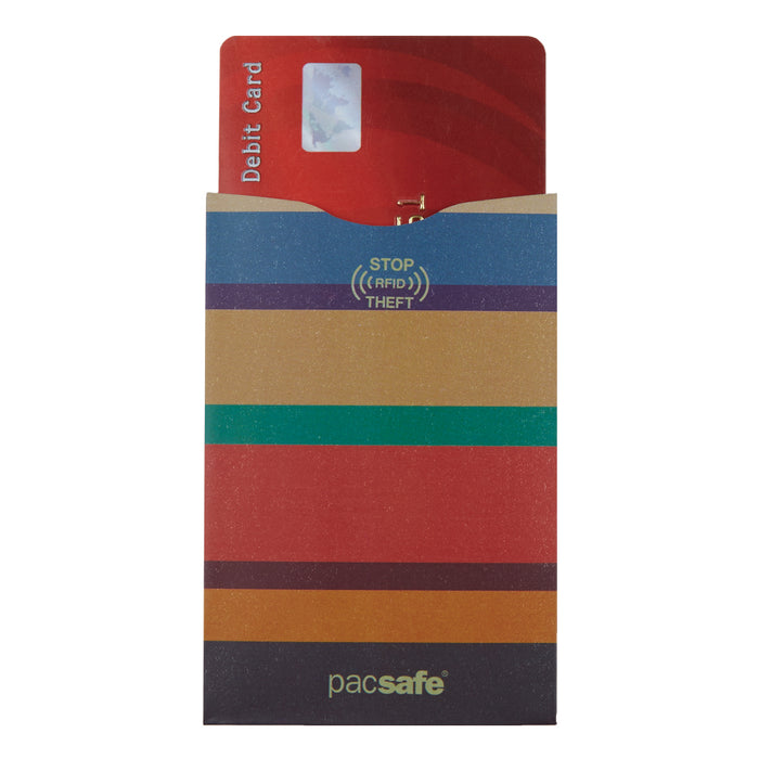 Pacsafe RFIDSleeve 25 Credit Card Sleeve (5 Pack)