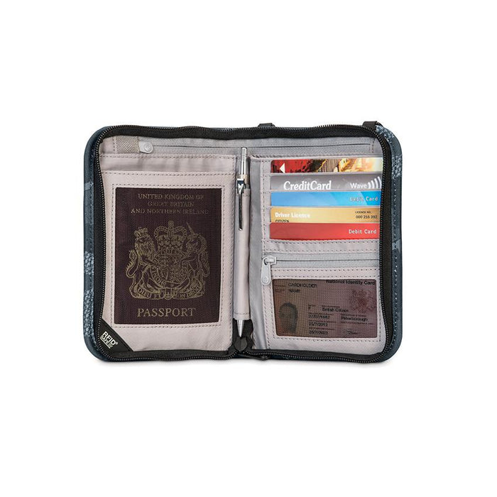 Pacsafe® RFIDsafe™ V150 Anti-theft RFID blocking compact organiser - Jet-Setter.ca
