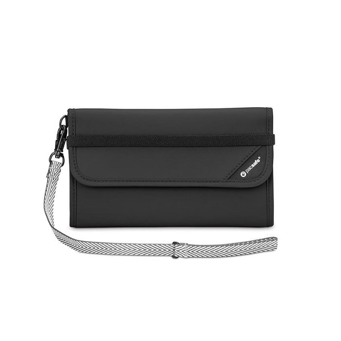 Pacsafe® RFIDsafe™ V250 Anti-theft RFID blocking travel wallet - Jet-Setter.ca
