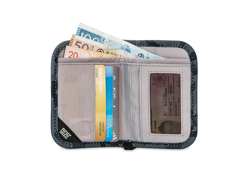 Pacsafe RFIDsafe™ V50 Anti-Theft RFID Blocking Compact Wallet