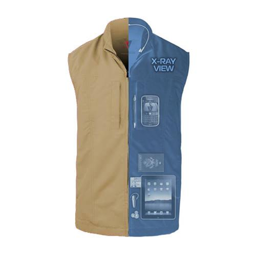 RFID Blocking Men's ScotteVest - Jet-Setter.ca