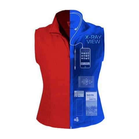 RFID Blocking Women's ScotteVest - Jet-Setter.ca